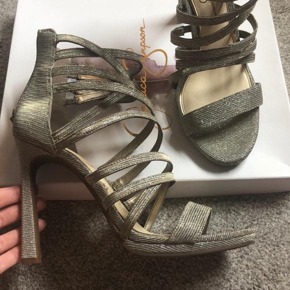Jessica Simpson Shoes - Jessica Simpson strappy heel